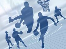 2个艺术篮球 图库摄影