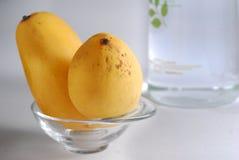 2个芒果 库存图片