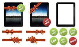 2个苹果礼品ipad 免版税库存图片