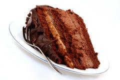 2个蛋糕巧克力泥 图库摄影