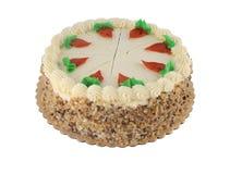 2个蛋糕红萝卜 图库摄影