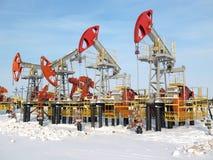 2个行业油 免版税库存图片