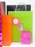 2个袋子购物 库存图片