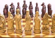 2个西洋棋棋子 免版税图库摄影