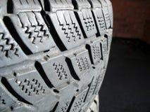 2个轮胎 免版税库存图片