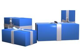 2个配件箱礼品 图库摄影