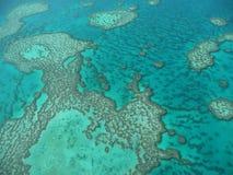 2个障碍极大的礁石 图库摄影