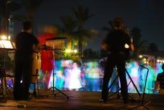 2个音乐会晚上 免版税库存照片