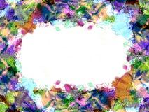 2个颜色框架 免版税图库摄影