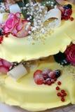 2个饼婚礼 免版税库存图片