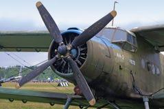 2个驾驶舱引擎飞机 图库摄影