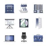 2个bella图标办公室零件系列 库存照片