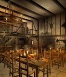 2中世纪小酒馆 免版税库存照片