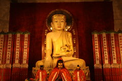 2中国人寺庙 免版税库存图片