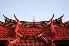 2中国人屋顶 库存图片