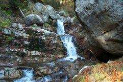 2乳状瀑布 图库摄影