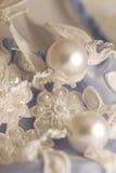 2件褂子婚礼 免版税图库摄影
