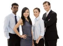 2企业不同的小组 免版税库存照片