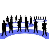 2企业小组 免版税库存图片