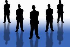 2企业小组 免版税库存照片