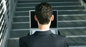 2企业膝上型计算机 库存照片