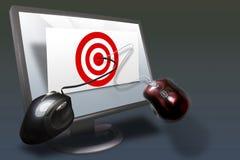 2企业营销销售额 免版税库存图片
