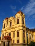 2位天主教徒圆顶罗马尼亚timisoara 免版税库存照片