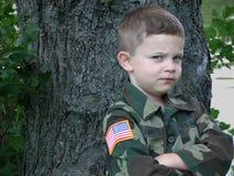 2位战士玩具 免版税库存照片