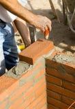 2位砌砖工