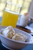 2健康的早餐 免版税库存照片