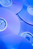 2光盘存放人 免版税库存图片
