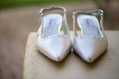 2双新娘鞋子 库存图片
