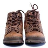 2双鞋子绒面革 免版税库存照片