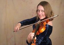 2古典小提琴手 库存照片