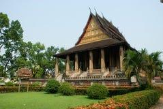 2古老老挝寺庙 免版税库存照片