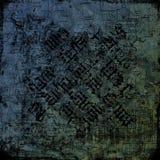 2古老背景冷静脏的羊皮纸石头 免版税库存照片