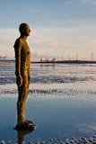 2另一个铁安排雕塑 免版税库存照片