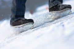 2只冰鞋 图库摄影