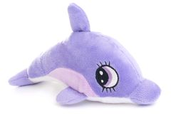 2只海豚玩具 免版税图库摄影