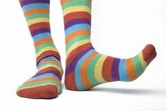 2只袜子 免版税库存照片