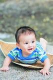 2可爱的男婴 库存照片