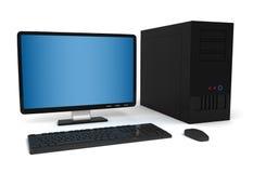 2台式计算机 免版税库存图片
