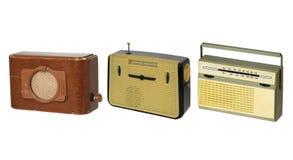 2台收音机 库存图片