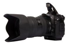 2台照相机数字式dslr 库存照片