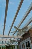 2台风扇荡桨时髦 免版税图库摄影