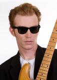 2吉他演奏员 库存图片