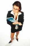 2名企业性感的妇女 免版税库存照片