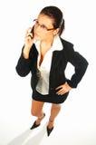 2名企业性感的妇女 免版税库存图片