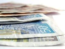 2名克罗地亚人货币 图库摄影