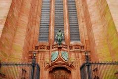 2名国教徒大教堂利物浦 免版税库存照片
